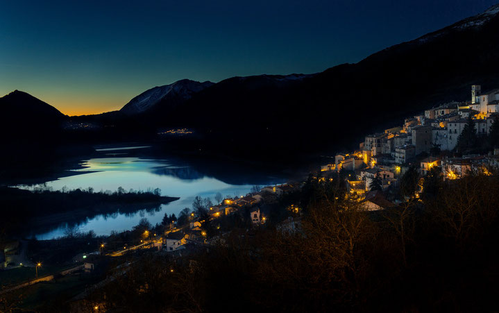 Lago di arrea, Villetta Barrea