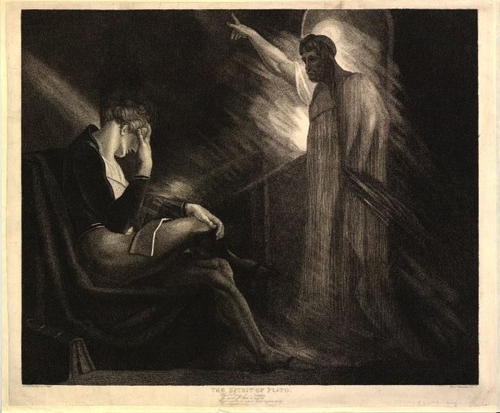 """The Spirit of Plato"", British Museum"