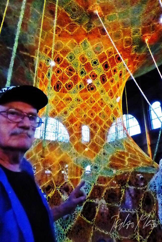 Pedro Meier – Ernesto Neto, Brazil – »Gaia Mother Tree« – Zurich Main Station – Fondation Beyeler – © Pedro Meier »Selfie-Art-Project« Multimedia Artist, Atelier Gerhard Meier Weg Niederbipp und Bangkok am Golf von Thailand – FLUXUS DADA, Visarte, SIKART