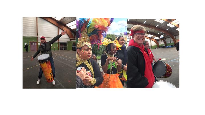 Sourires et couleurs pour ce carnaval !