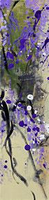 紫藤3 WISTERIA 3 100X25CM 布面油画 OIL ON CANVAS
