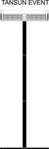 Tansun Event Infrarot-Heizung mit mobilem Ständer