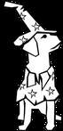 神戸のペット火葬ペットセレモニーお星さまの犬のロゴ画像