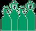 Airproducts bouteilles de gaz industriels oxygène acétylène argon