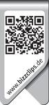 Promoclip mit QR-Code