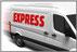 Overnightservice, 24 Stunden-Service, Express-Lieferung, Sofortservice