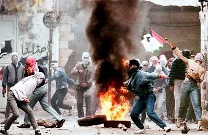 * Første Intifada 1987 - 1993 * Anden Intifada 2000 - 2005