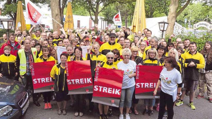 Landsdækkende strejke af postarbejdere, juni / juli 2015