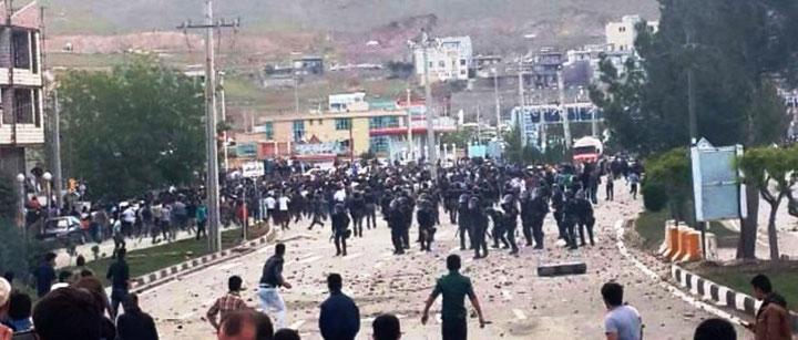 Weekendens oprør i den kurdisk-iranske by Mahabad