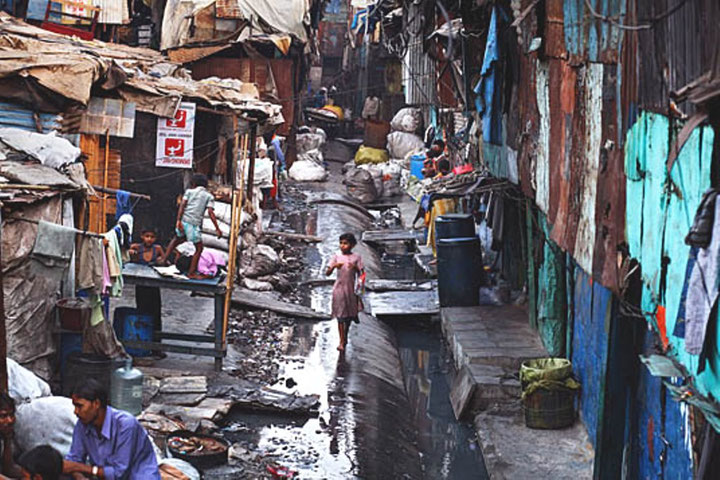 Fattigdom i Indien (Mumbai)