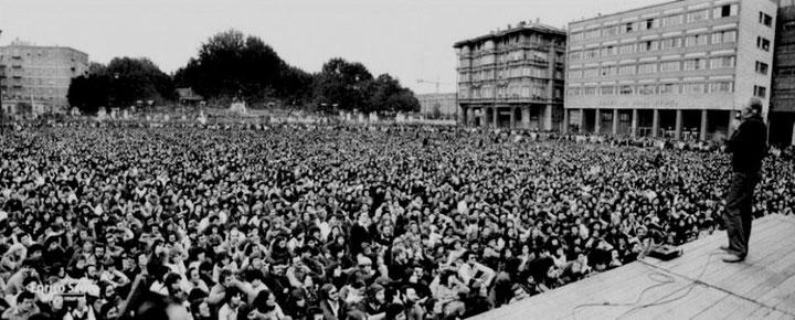 Den autonome bevægelses anti-repressionskongres i Bologna, d. 23. - 25. september 1977