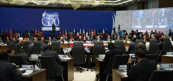 G20-topmødet- 2015 i Tyrkiet