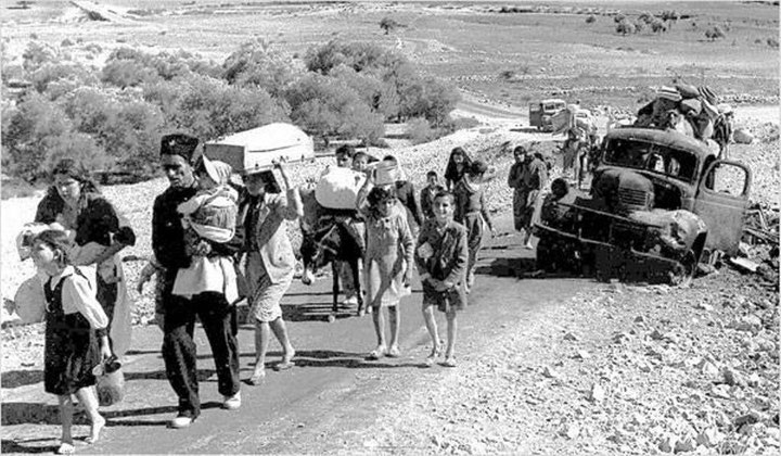 """Al-Nakba"" - palæstinensernes masseflugt 1947-49"