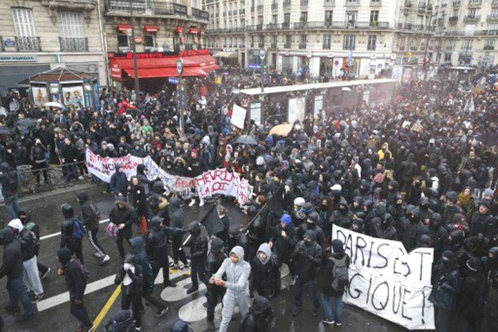 Den venstreradikale blok i Paris