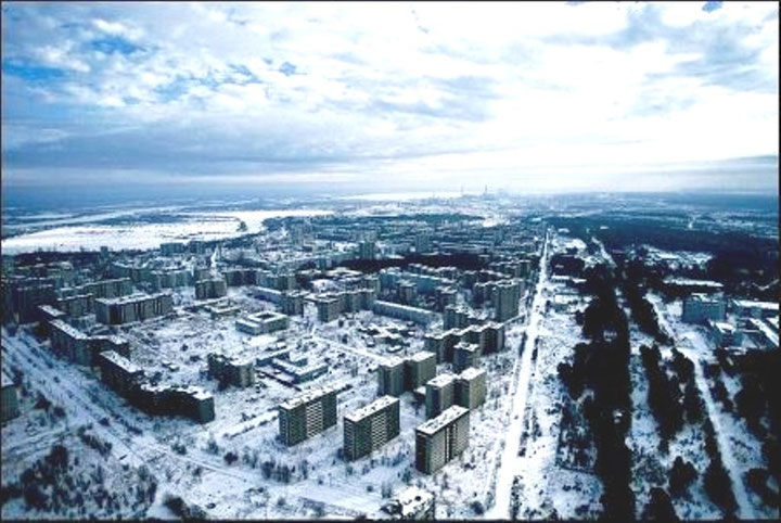 Spøgelsesbyen Pripjat - Tjernobyl efter atomkatastrofen