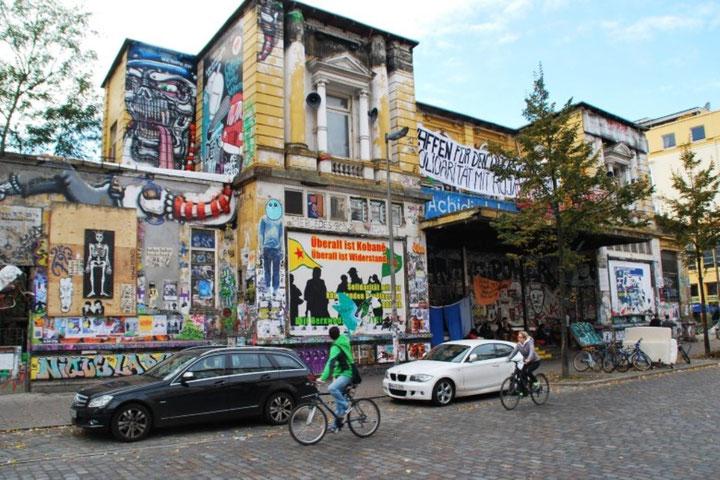 'Rote Flora' i Hamburg er Tysklands længst bz´atte autonome centrum (1989 - ...)