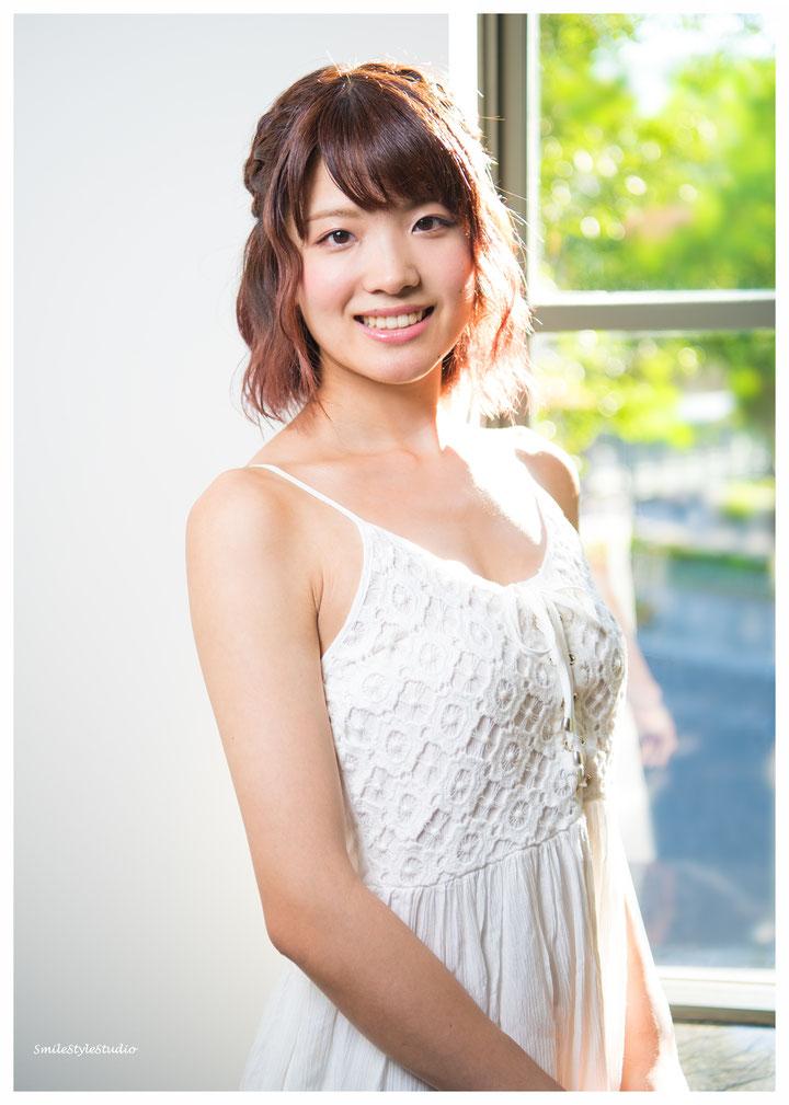 オーディション写真 カメラHibiki ヘアメイクKana 衣装SmileStyleStudio  2016.07.29  日中ミックス NikonD810