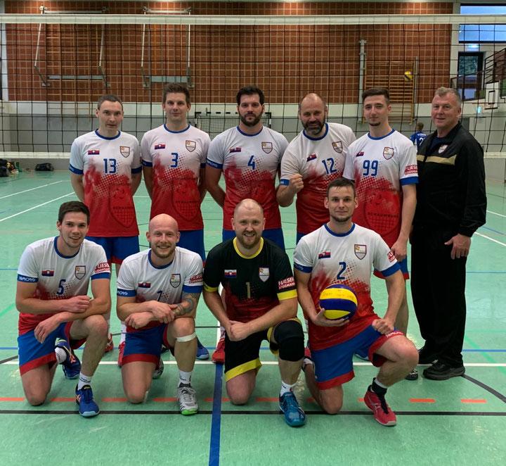 v.l.n.r. Felix, Johannes, Radi, Nenad, Martin, Steffen, Michael, Roman, Philipp, Edgar