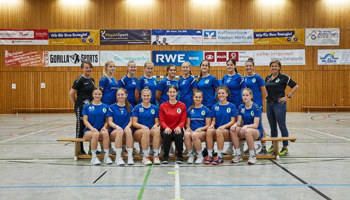 Erfolgreiche B1 Mädchen - 3 Spiele 3 Siege = Nordrheinliga