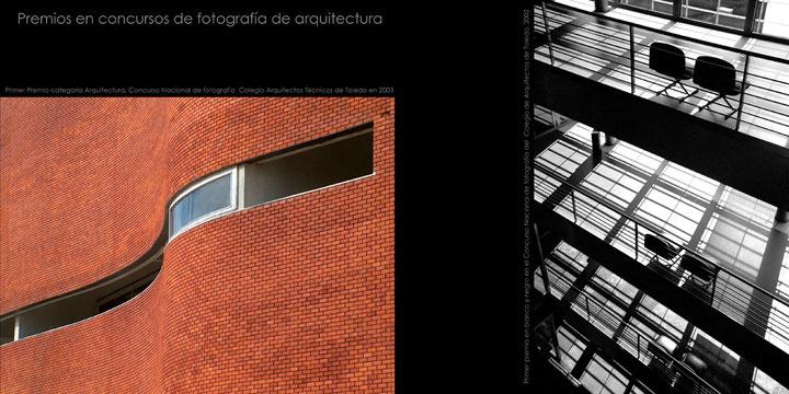 Premios en concursos nacionales de fotografía de arquitectura