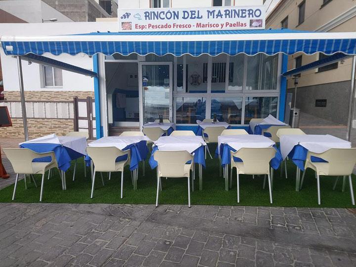 Terraza - Cerveza - Café - Postres - Pescado Fresco - Mariscos