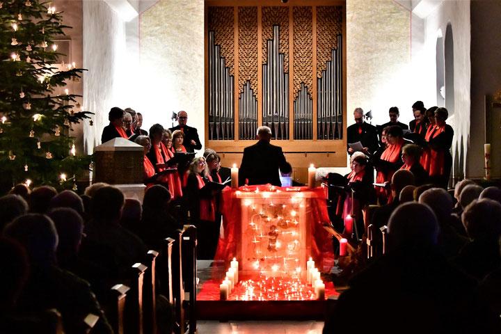 Adventskonzert 2018 Chor Nütheim/Schleckheim