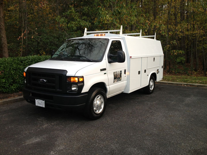 2011 Ford E350 5.4L Powered by Flex Fuels