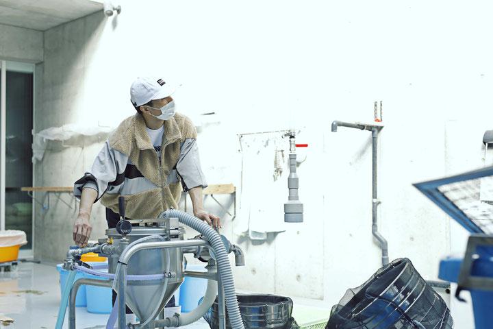 橘ケンチ(EXILE)白糸酒造造り
