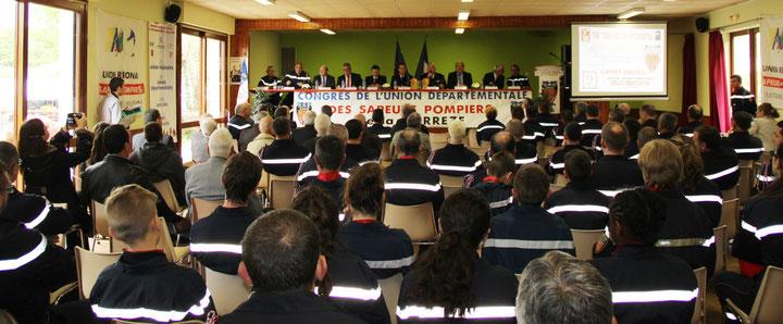 Assemblée générale de l'union départementale des sapeurs-pompiers de la Corrèze