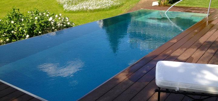 Chromstahl Pool in Zollikon