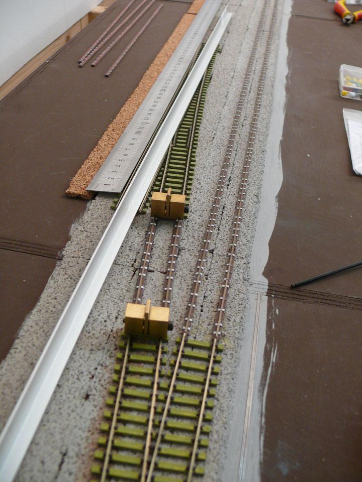 Bild 105: Spiegelbildlich das gleiche Procedere auf der anderen Seite der Haltestelle.