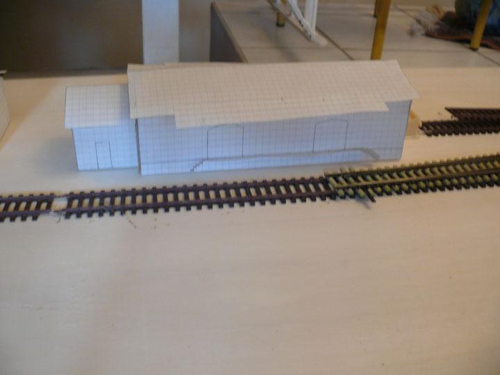 Bild 52: Überblick - Situation am Güterschuppen