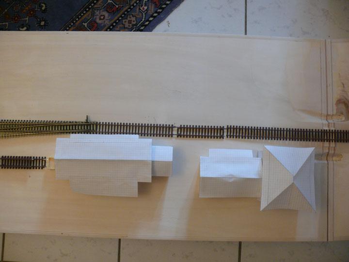 Bild 50: Überblick - Situation bei den Haltestellengebäuden aus der Vogelperspektive