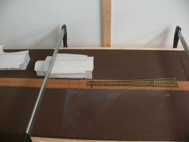 Bild 60: Position Weiche 1 am Güterschuppen