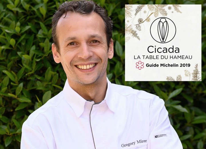 Christophe Chiavola invite Gregory Mirer à Cicada, la Table du Hameau 1 étoile Michelin