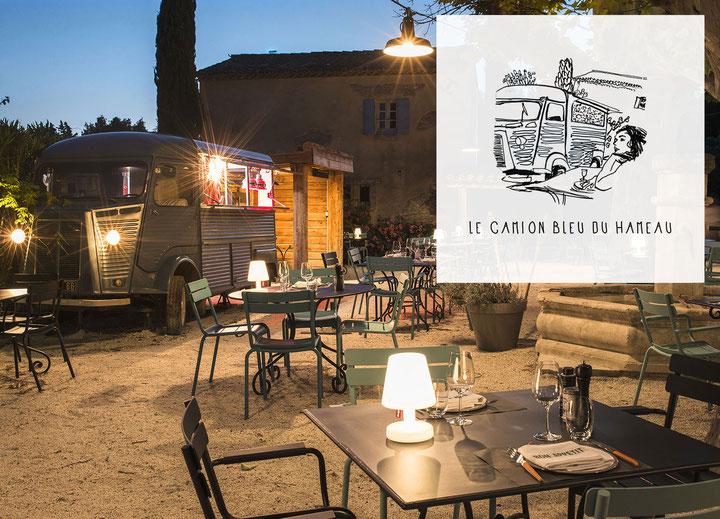Le Camion Bleu du Hameau, restaurant food truck au Paradou