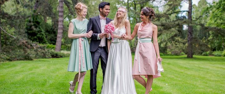 festliche Kleider für Hochzeiten und Feiern