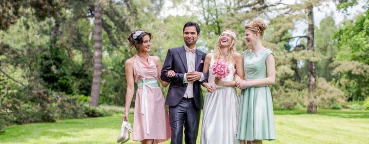 farbige Brautkleider - nachhaltig und individuell