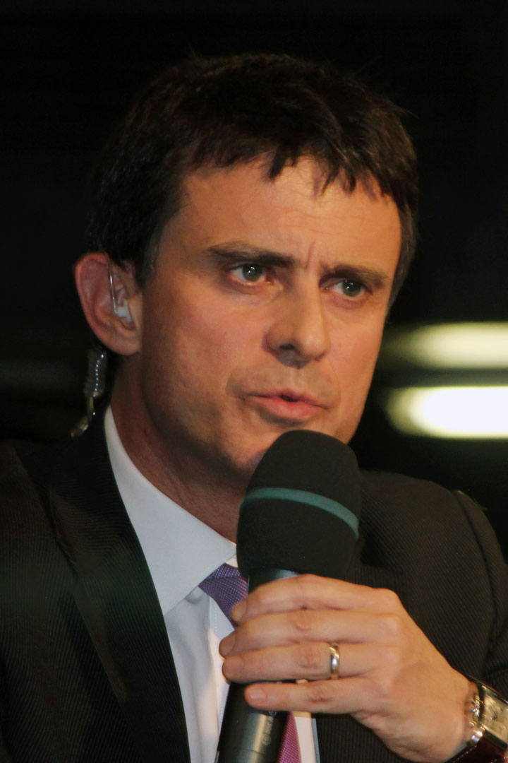 Manuel Valls - Lyon - 2012 © Anik COUBLE