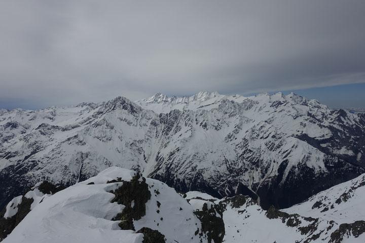 Skitouren Schweiz, Zentralschweiz, Guttannen, Mährenhorn, Skitour Mährenhorn, Haslital