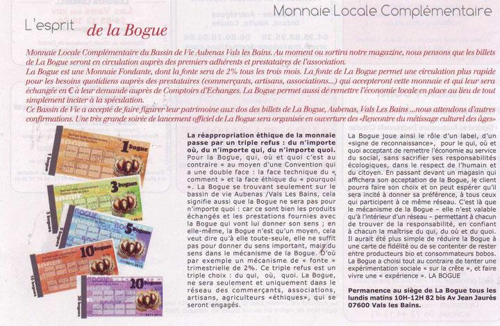 "Article paru dans ""Ma Bastide"""