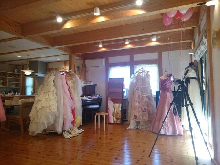 高岡台iの森にてドレス試着会ーブライダルサークル三重ー