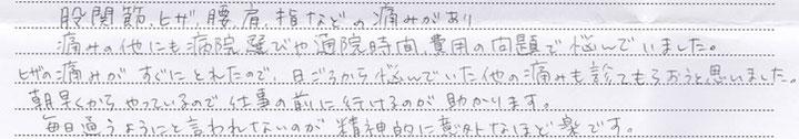 小平市 股関節周囲の痛み【1】