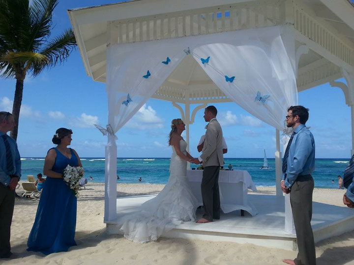 Chris and Basia's wedding in Punta Cana