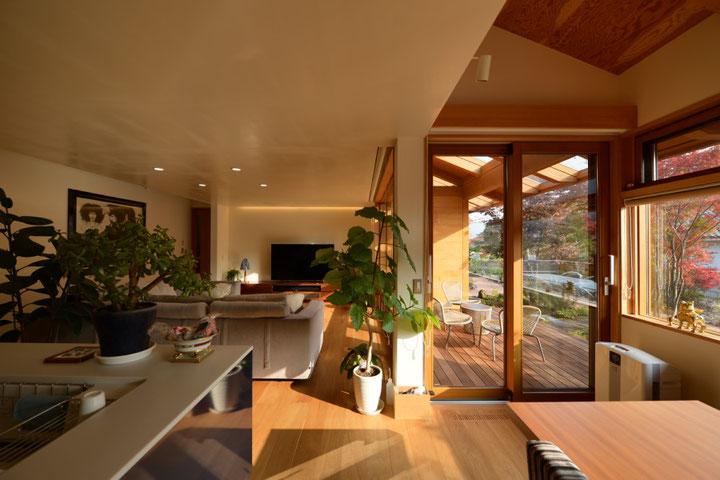 真田の家 長野県松本市・安曇野市の建築設計事務所 建築家 屋根の建築