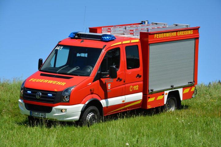 Ein allradbetriebenes Tragkraftspritzenfahrzeug. Florian Greising 44/1