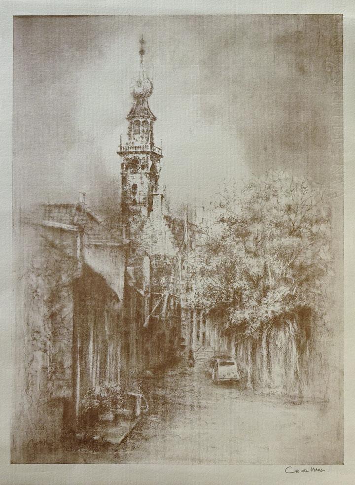 Stadhuis van Veere gezien vanaf de Markt.