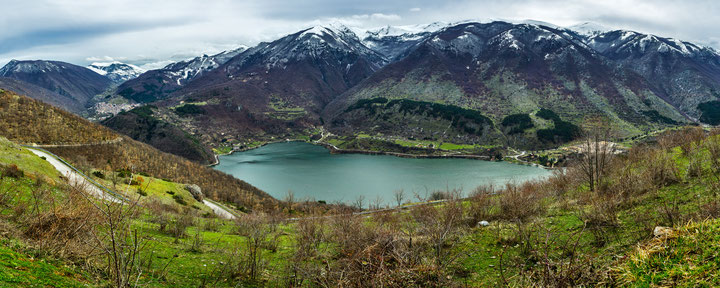 Lago di Scanno, panorama