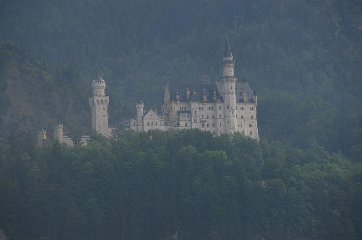 allemagne, bavière, chateau de neuschwanstein