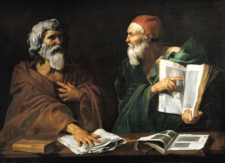 "Jusepe de Ribera, ""Due filosofi"""